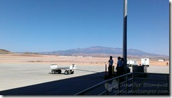 View from St George airport