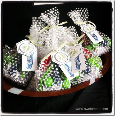 Seahawks twisted treats goodie bags