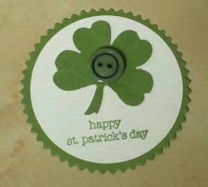 shamrock punch art