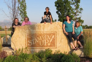 Fun n Crafty Stampers at Stampin Up headquarters