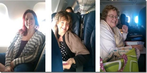 us on a plane