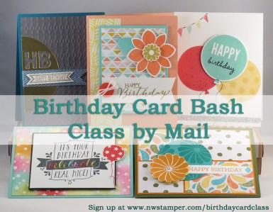 Birthday Card Bash Promo