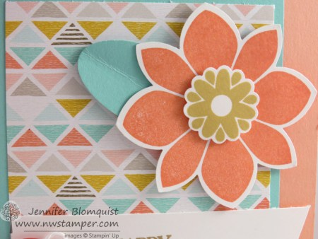 Petal Potpourri close up with Best Year Ever designer paper
