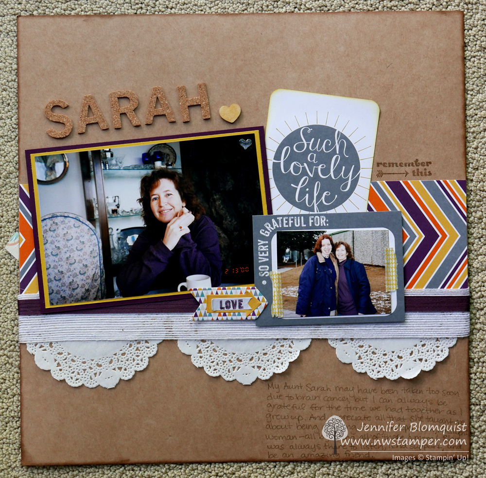 Scrapbooking Sunday Using Project Life Cards On A Traditional