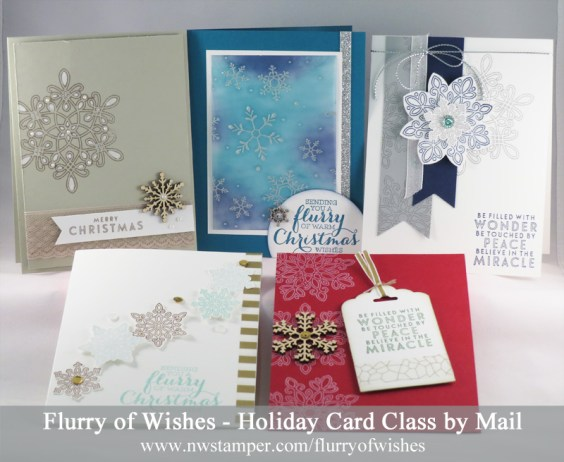 Flurry of Wishes class by mail