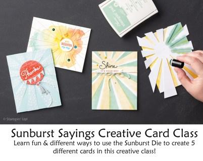 sunburst sayings class2