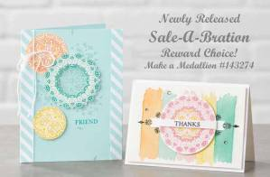 Make a Medallion stamp set by Stampin' Up on Nwstamper.com
