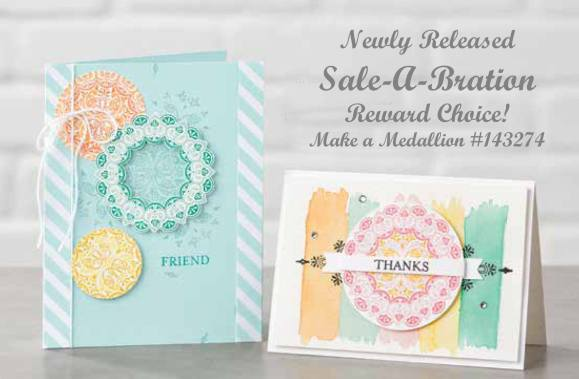 Make a Medallion stamp set by Stampin' Up on Nwstamper.com
