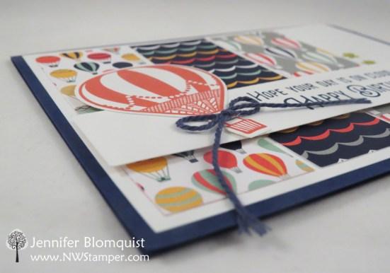 Birthday Card with Lift Me Up Bundle - Jennifer Blomquist, NWstamper.com