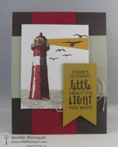 High Tide color blocked card nt