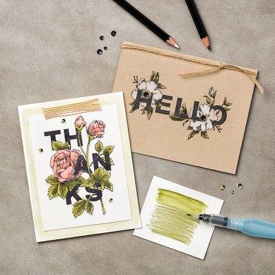 Floral Statements Stamp Set