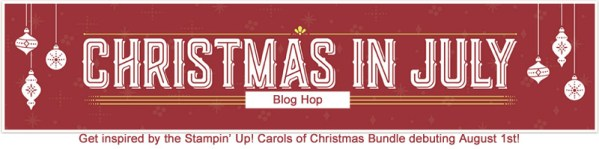 Carols of Christmas blog hop banner
