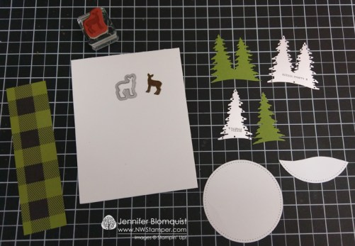 Carols of Christmas die cut forest scene pieces needed