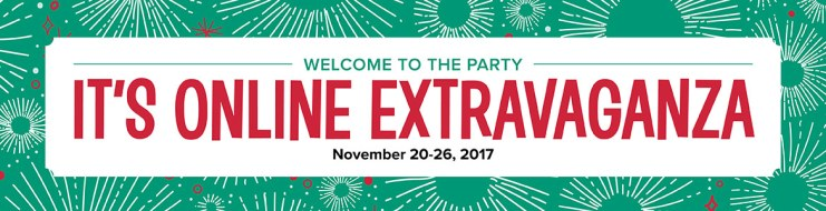 2017 Stampin' Up online extravaganza black friday sale