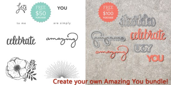 Create your own Amazing You Bundle