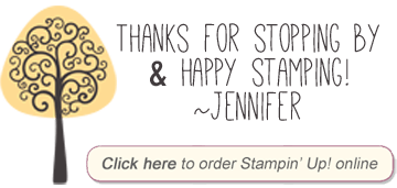 Jennifer Blomquist - Northwest Stamper Stampin Up Blog