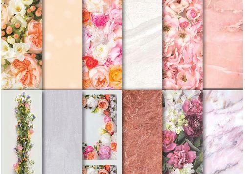 Petal Promenade designer paper
