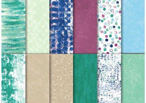 Tranquil Textures designer paper