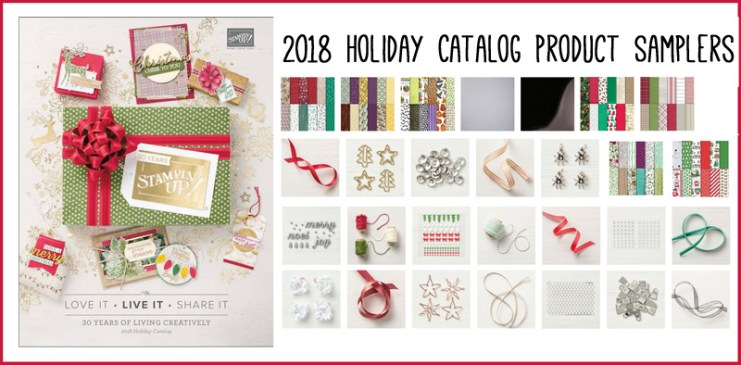 The Holiday Catalog is Here! Try it all with a Product Sampler