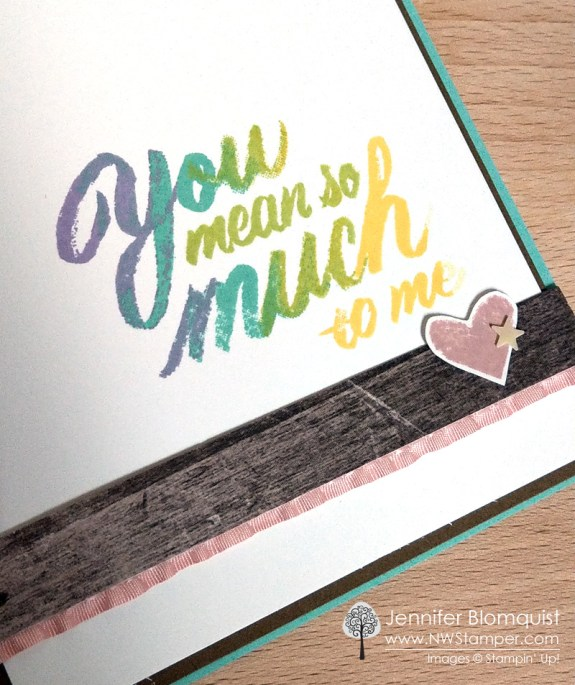 Mean So Much faux watercolor sentiment close up