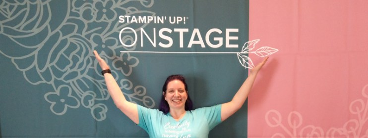 Stampin Up OnStage 2019 in Vancouver BC - Jennifer Blomquist