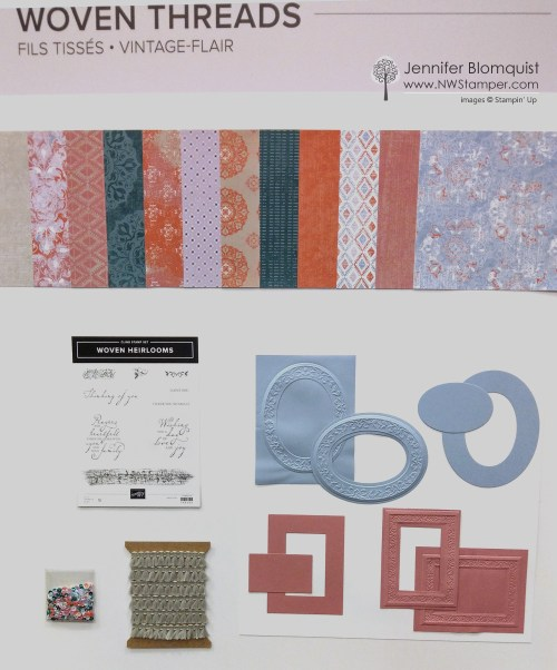 Woven Threads suite by Stampin' Up!