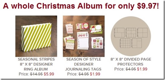 Year end closeout Christmas Album