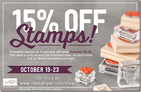 15 off stamps promo_NWStamper
