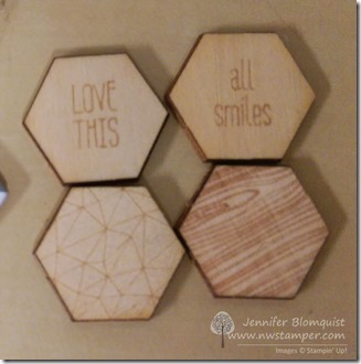 Happiness is accessory pack wood embellishments