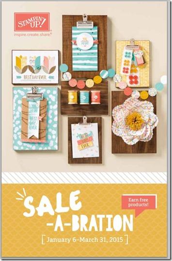 2015 Sale-a-Bration catalog cover