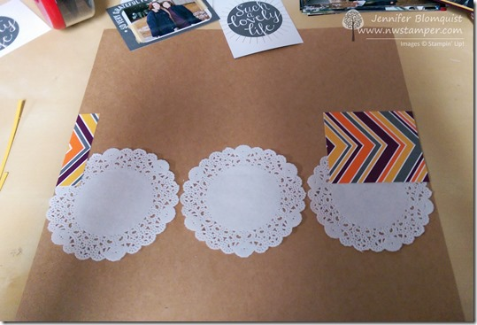 project life card as designer paper for scrapbook layout