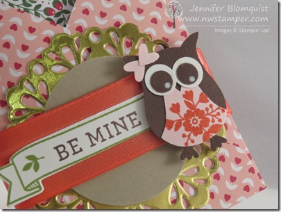 Valentine's Day Owl Builder Punch