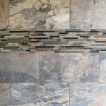 Large Custom Home With Porcelain Tile And Natural Stone
