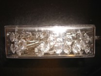 Clear Diamante Pins