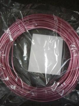 Pink Aluminum Wire