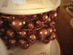Brown Beaded Wire