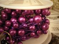 Purple Beaded Wire