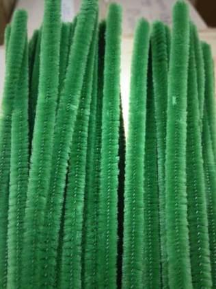 Green Chenille