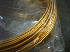 Gold Flat Wire