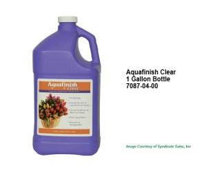 Aquafinish® Clear