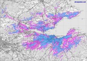 GB7EU Coverage Map