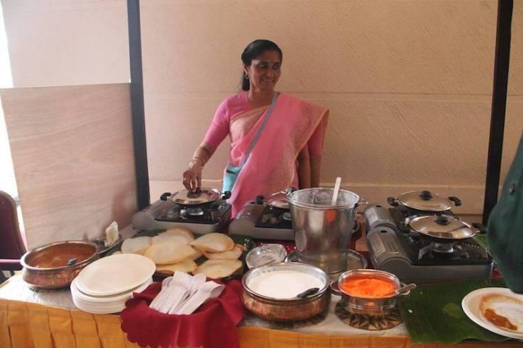 Annalakshmi, a non-profit restaurant serving authentic Indian food