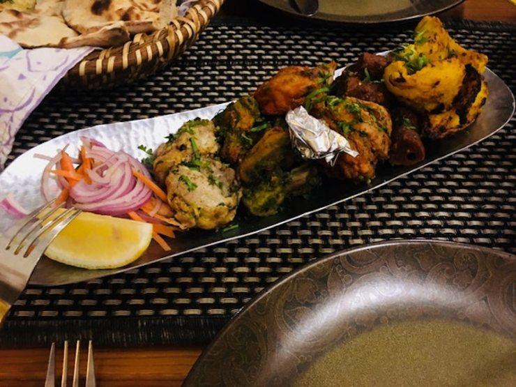 A serving of Kabab e Tashtar from Mustard