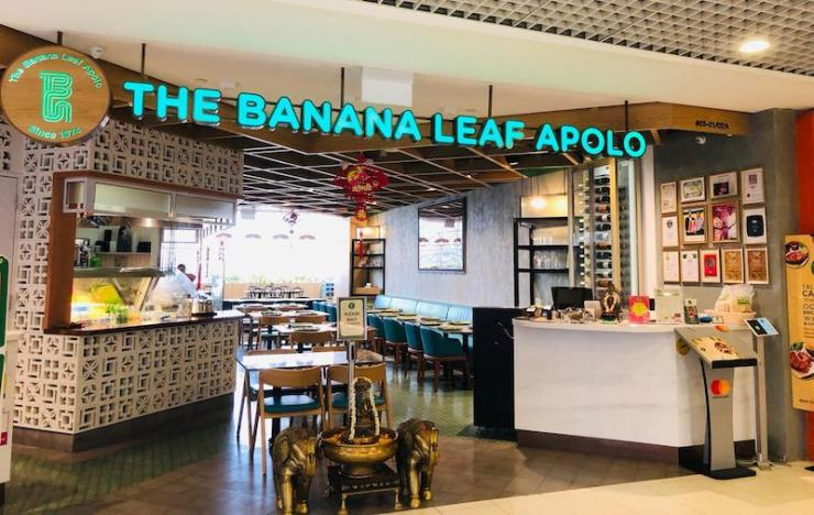 Exterior of The Banana Leaf Apolo