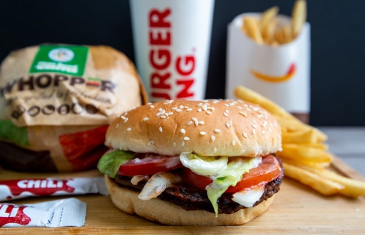 Photo of Burger King Plant Based Whopper with Fries and a drink