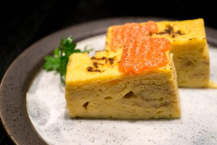 sen-ryo Tamagoyaki with Mentaiko Sauce