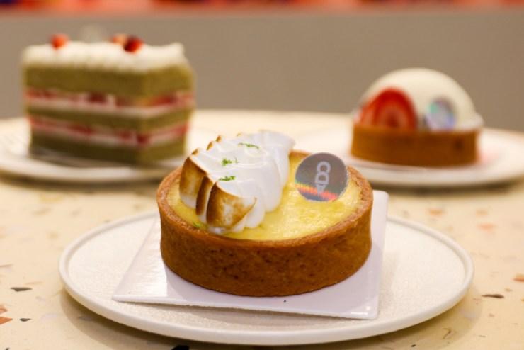 amuse dessert co.'s yuzu meringue tart