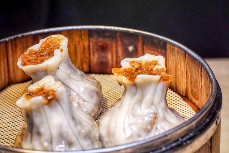 Braised Glutinous Pork & Mushrooms Dumplings in Shanghai Style