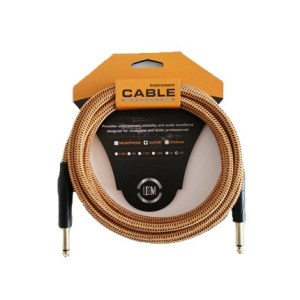 Leem FGC-1-3 Fabric Instrument Cable
