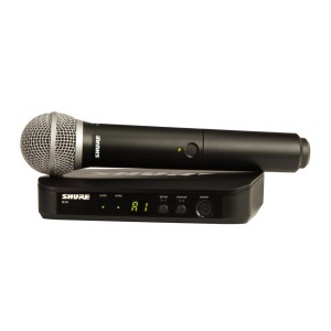 Shure BLX24/PG58 Wireless Vocal System